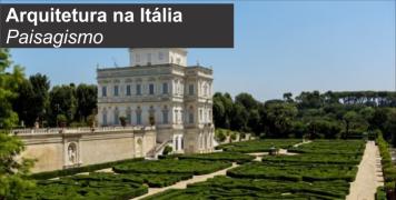 Foto para o pacote Arquitetura na Itália -  Tema PAISAGISMO