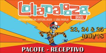 Foto para o pacote LOLLAPALOOZA BRASIL - 2018 - RECEPTIVO
