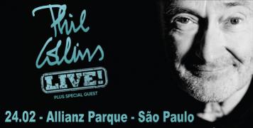 Foto para o pacote Show PHIL COLLINS - São Paulo - 2018