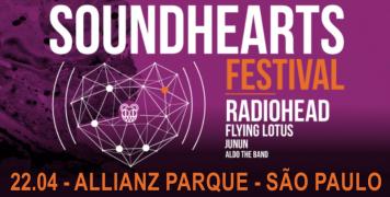 Foto para o pacote SOUNDHEARTS FESTIVAL - São Paulo - 2018