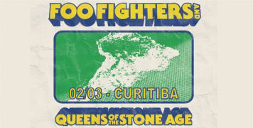 Foto para o pacote Show FOO FIGHTERS - Curitiba - 2018