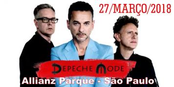 Foto para o pacote Show DEPECHE MODE - São Paulo - 2018